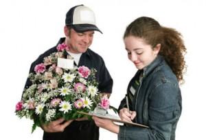 gėlės į namus