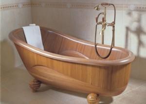 wooden baths